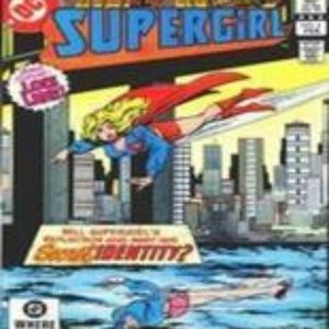 SUPERGIRL Vol 2 # 4 February 1983 Comic Book By DC